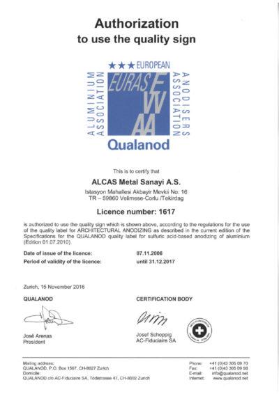 thumbnail of Qualanod 2017 Alcas Metal